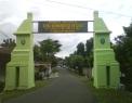 Gapura menuju Masjid Tegalsari, Kec. Jetis Ponorogo