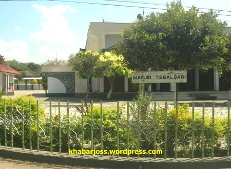 Papan nama Masjid Tegalsari, Kec. Jetis, Ponorogo